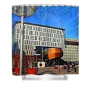 City Infradesign Artwork Shower Curtain