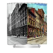 City - Knoxville Tn - Gay Street 1903 - Side By Side Shower Curtain