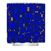 City Life Series No. 6 Shower Curtain