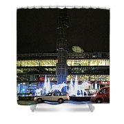 City Lights 2 Shower Curtain