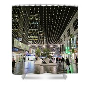 City Lights 3 Shower Curtain