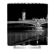 City Lights London Shower Curtain