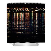 City Lights Upon The Water 1 Shower Curtain