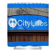 City Loos Shower Curtain