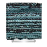 City Metal Grid Shower Curtain