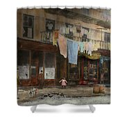 City - Ny - Elegant Apartments - 1912 Shower Curtain
