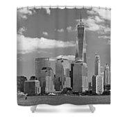 City - Ny - The Shades Of A City Shower Curtain