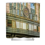 City Of Boston Fire Department Shower Curtain