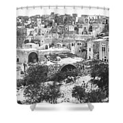 City Of David Bethlehem Shower Curtain by Munir Alawi
