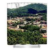 City Of Gatlinburg Shower Curtain