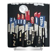 City Of Gold #52 Shower Curtain