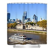 City Of London 12 Shower Curtain