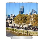 City Of London 14 Shower Curtain