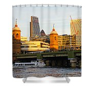 City Of London 5 Shower Curtain