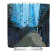 City Of London Street Shower Curtain