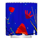 City Of Maisons Shower Curtain