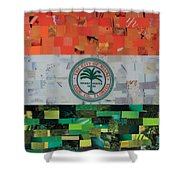 City Of Miami Flag Shower Curtain