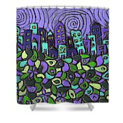 City Of Passion Shower Curtain