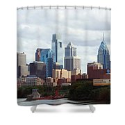 City Of Philadelphia Shower Curtain