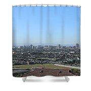 City Of San Pedro Shower Curtain