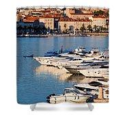 City Of Split In Croatia Shower Curtain