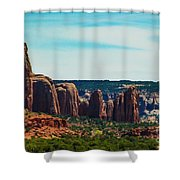 City Of Stones  Shower Curtain