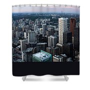 City Of Toronto Downtown Shower Curtain