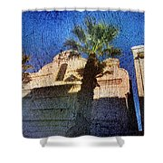 City Palms Shower Curtain
