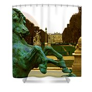 City Park Shower Curtain