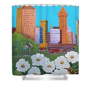 City Shower Curtain