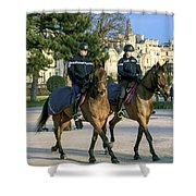 City Patrol Shower Curtain