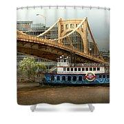 City - Pittsburg Pa - Great Memories Shower Curtain