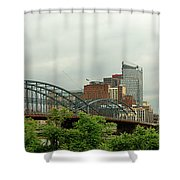 City - Pittsburgh Pa - The Grand City Of Pittsburg Shower Curtain
