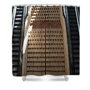 City Place Stairs Shower Curtain