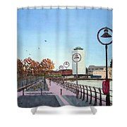 City Quay Campshires Shower Curtain