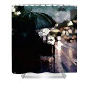 City Rain Shower Curtain by Susan Maxwell Schmidt