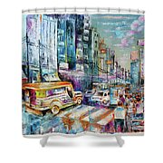 City Road Shower Curtain