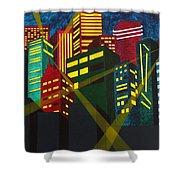 City Scion Shower Curtain