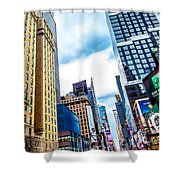 City Sights Nyc Shower Curtain