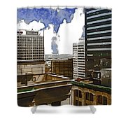 City Skies Shower Curtain