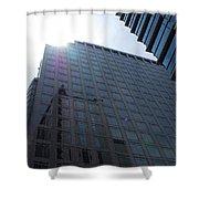 City Sky Shower Curtain