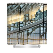 City Solitude Shower Curtain