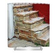 City Steps Shower Curtain