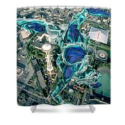 City Strollin Shower Curtain
