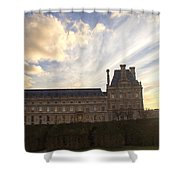 City Sunset Shower Curtain by Milan Mirkovic