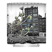City Sway Shower Curtain