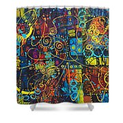 City That Never Sleeps Shower Curtain