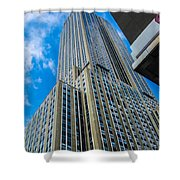 City Tower Shower Curtain
