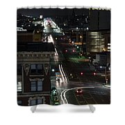 City Trails Shower Curtain