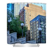 City Walk Shower Curtain